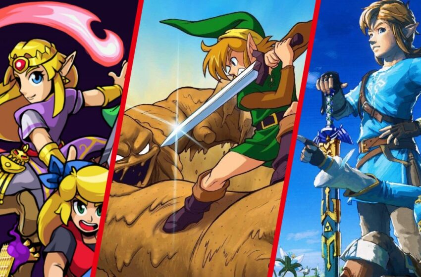 Data: Completely Zelda Video games Of All Time