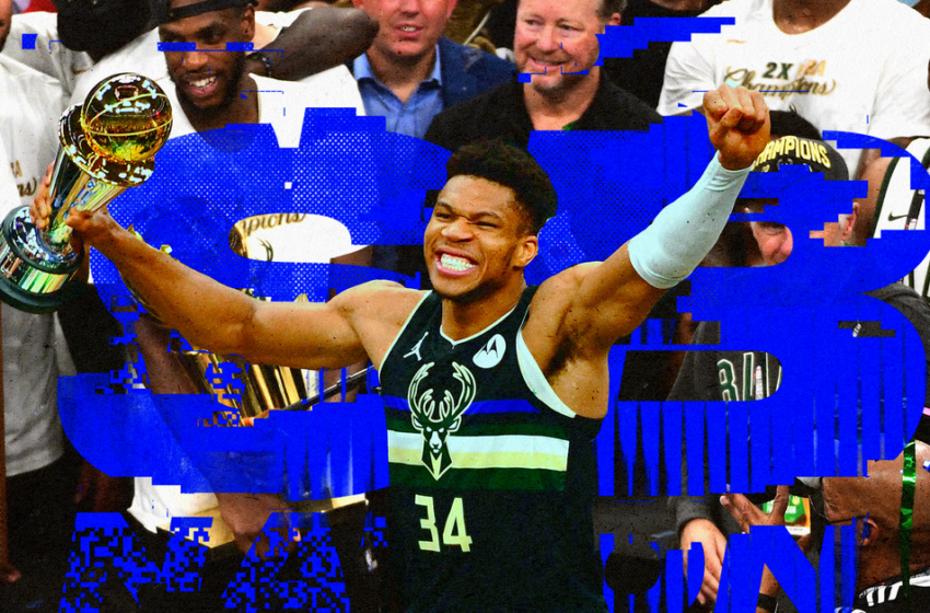 Giannis Antetokounmpo represents the complete lot mountainous about sports activities