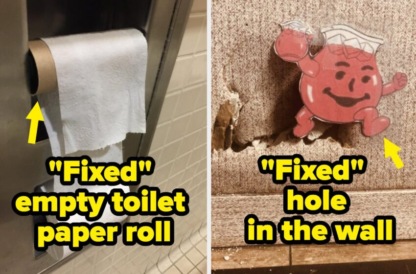 """27 Broken Issues That Had been """"Mounted"""" By Sluggish But Hilarious Geniuses"""