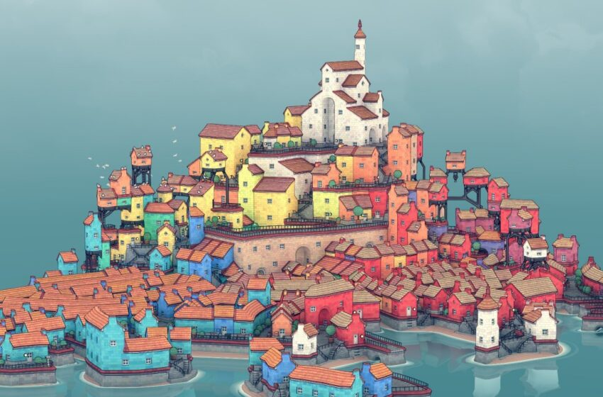 Townscaper Is Out Now On Swap eShop