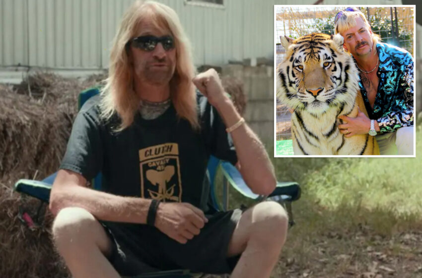 'Tiger King' superstar and zookeeper Erik Cowie uninteresting at Fifty three