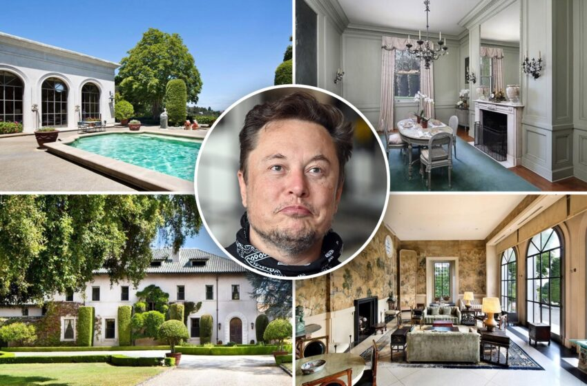 Elon Musk takes his closing home off the market 3 months after checklist it