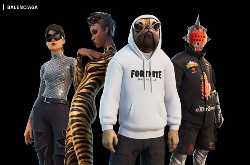 The Fortnite x Balenciaga Collab Is The total lot The Sport Deserves