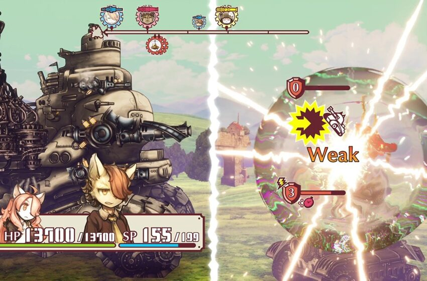 Fuga: Recollections Of Steel is a technique RPG with a colossal itsy-bitsy one-powered tank