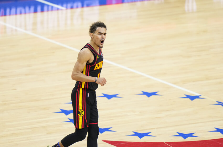 Hawks' Trae Younger, Adidas Stammer Trae Younger 1 Signature Shoe, Apparel Line