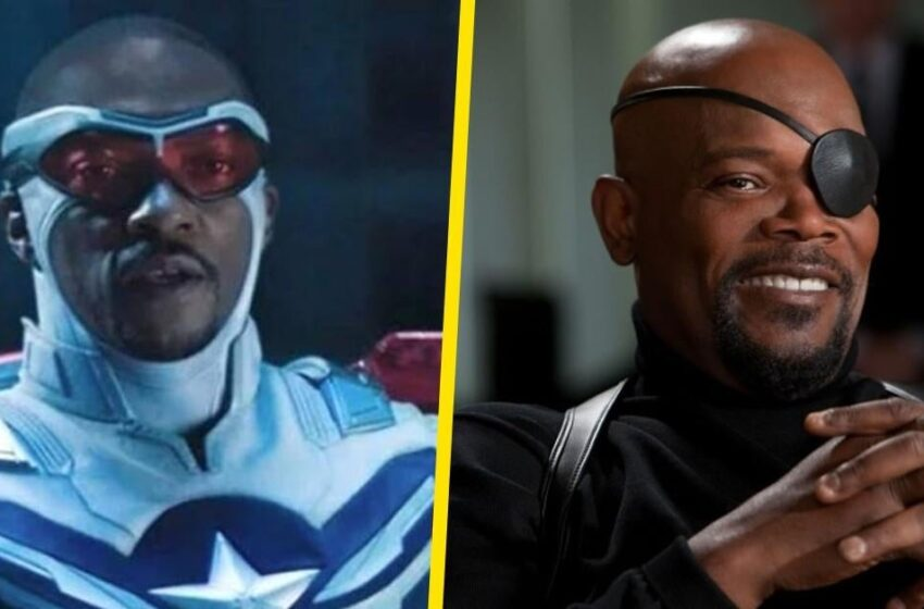 Captain The USA 4 Primary person Anthony Mackie Channels Gorgeous Samuel L. Jackson Role in Hilarious Post