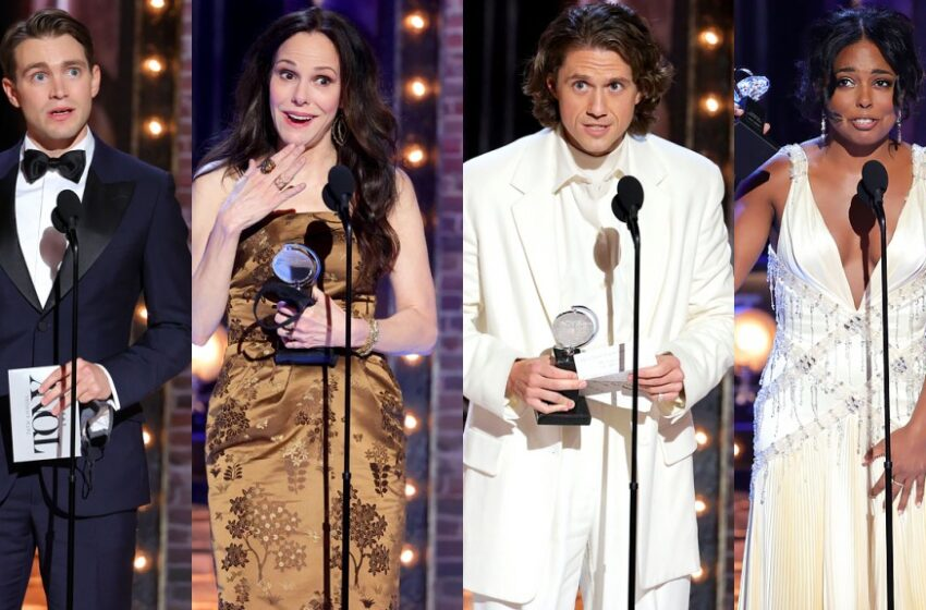 Tony Awards: 'Moulin Rouge,' 'Inheritance,' 'Soldier's Play' Nab Top Prizes
