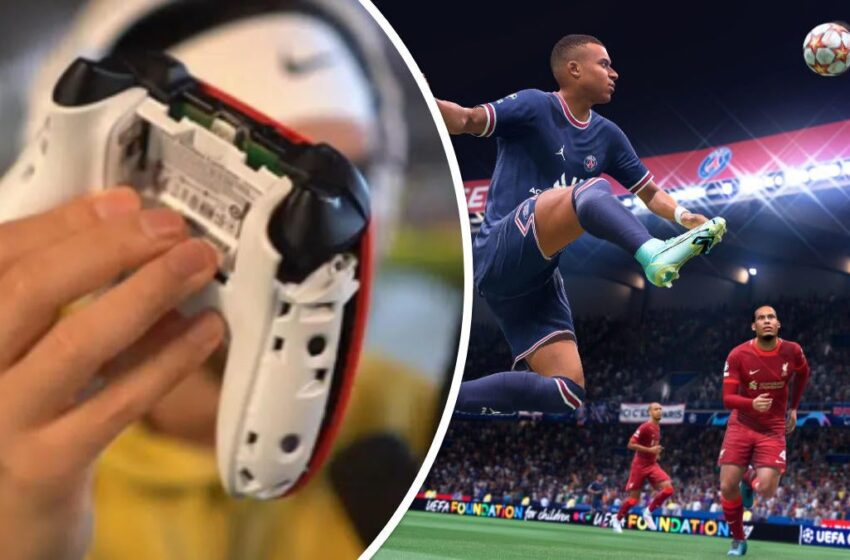 FIFA 22 Streamer Obliterates Controller in Rage After Mountainous Pass over