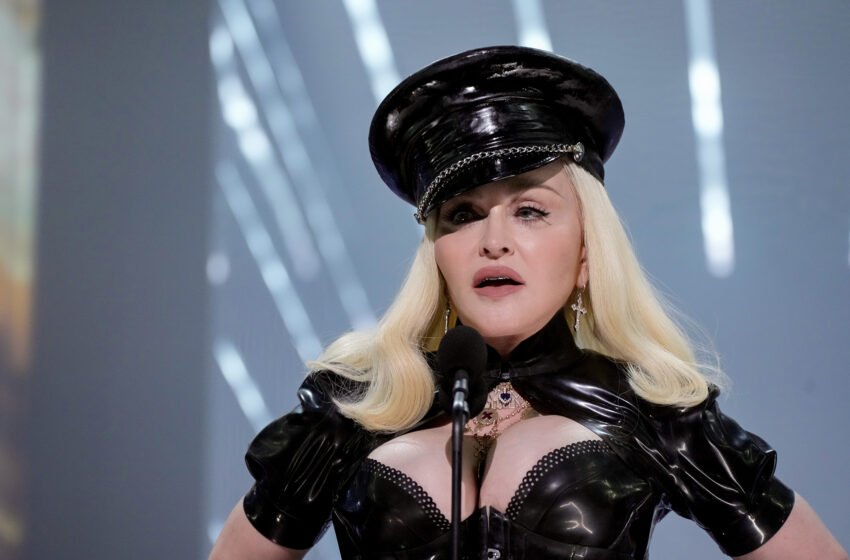 Madonna performs goal at Harlem cabaret sooner than taking to the streets