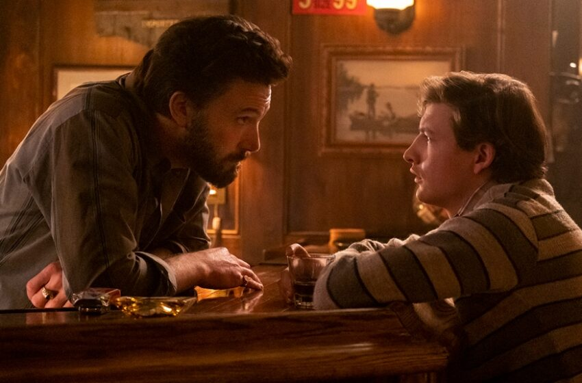 Ben Affleck and Tye Sheridan in George Clooney's 'The Gentle Bar': Film Overview   BFI London 2021