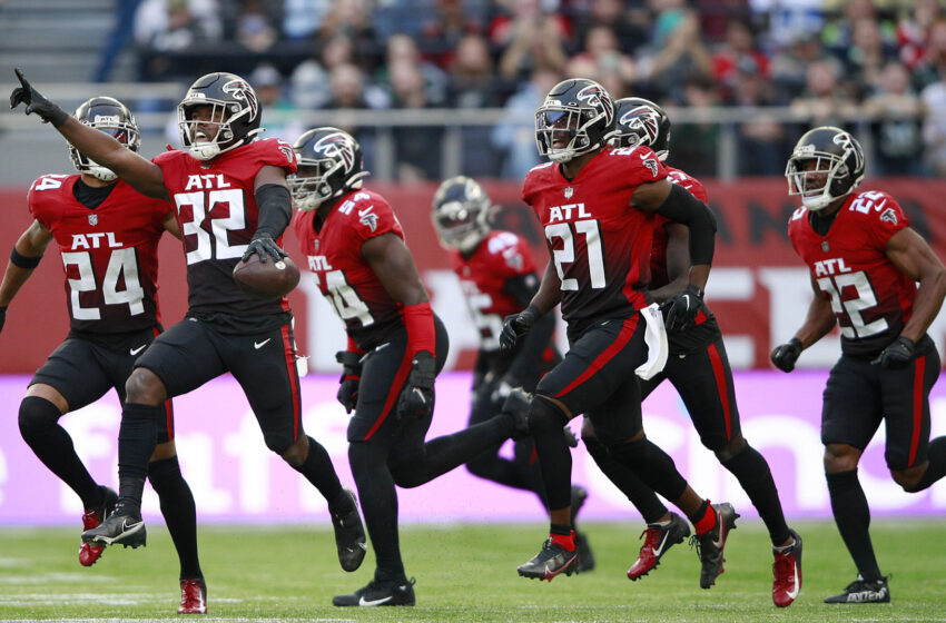 Falcons claw to amass over Jets in NFL's return to London