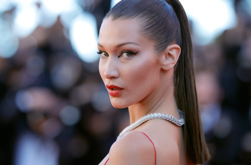 Bella Hadid Rocked Side Bangs Straight Out of 2009 on Her Birthday