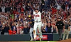 Braves and Astros reach in MLB playoffs as Giants-Dodgers heads for decider