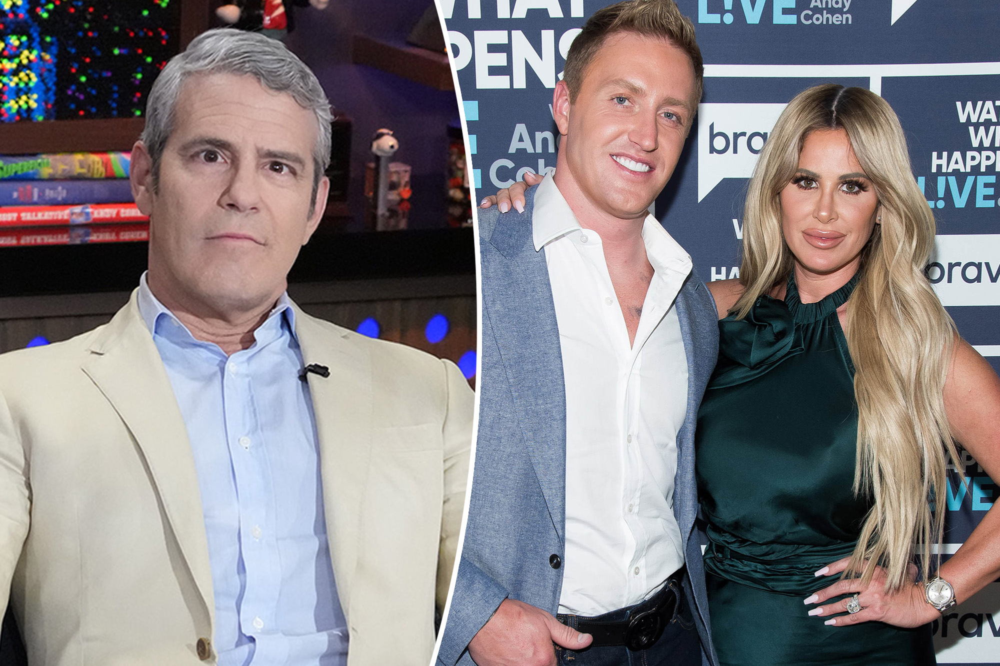 Andy Cohen practically punched by a 'Right Housewives' hubby: 'He had a gun'