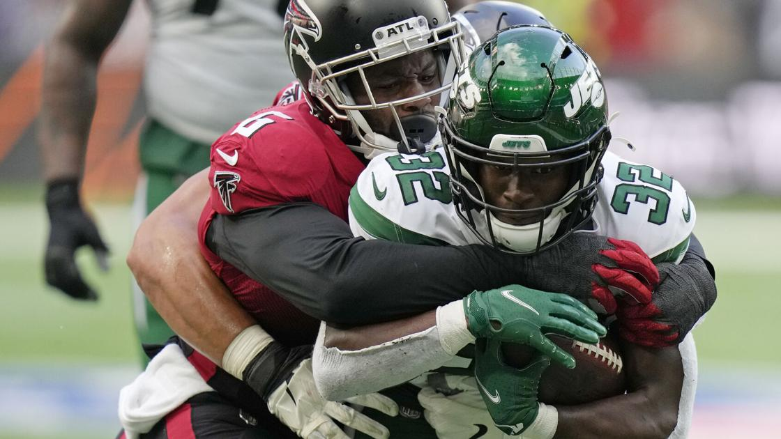 Falcons DE Fowler (knee) out for Sunday's sport vs Dolphins